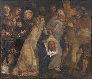 Il dipinto dopo il restauro conservativo