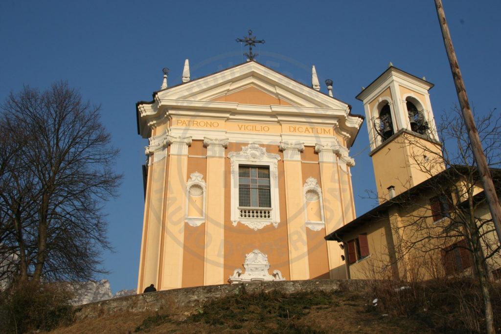 Trasporto per il restauro delle sculture presenti sulla facciata della Chiesa Parrocchiale di San Vigilio in Lodrino (BS)