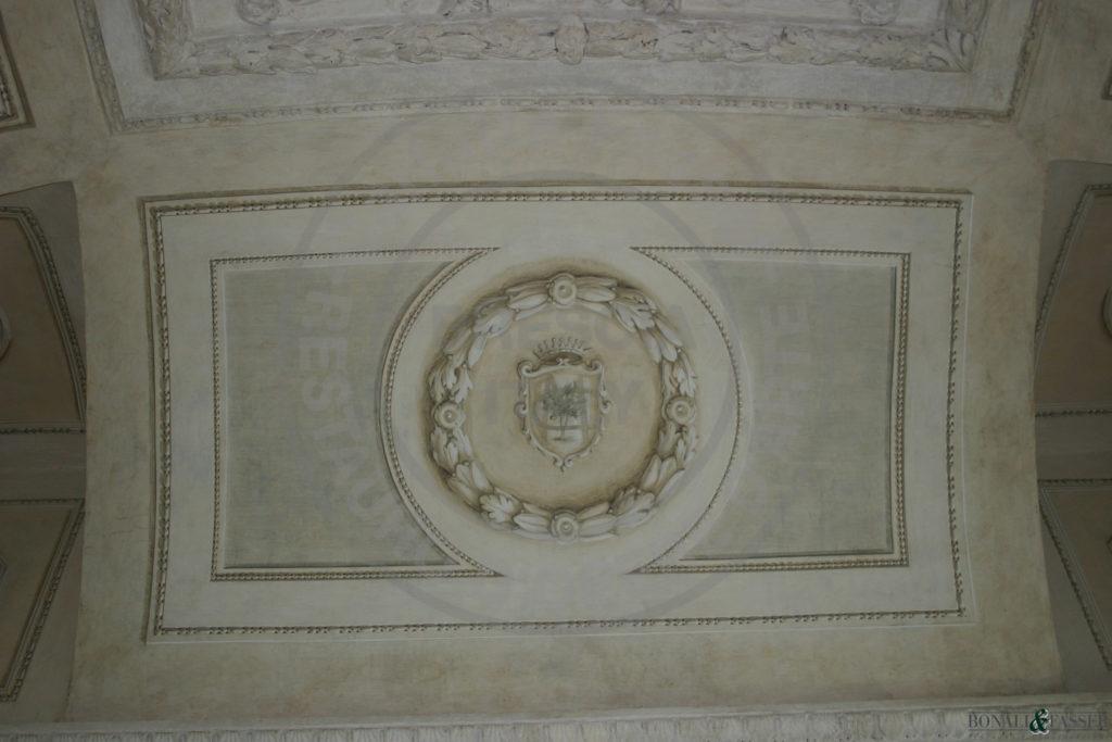 Palazzo Savoldo, dopo l'intervento di restauro  e decorazione