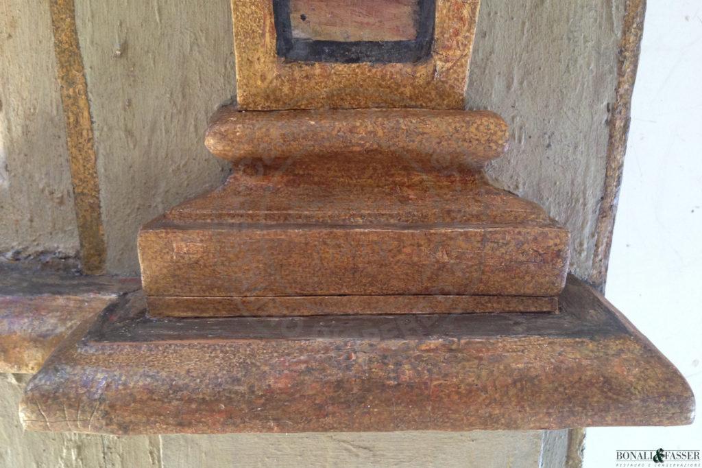 Dettaglio dopo l'intervento di restauro