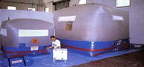 Trattamento di disinfestazione anossico di tipo fisico con atmosfera modificata tramite sistema attivo