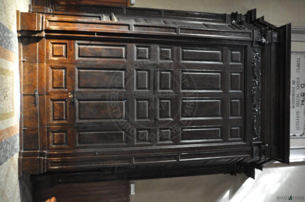 Totale interno prima del restauro