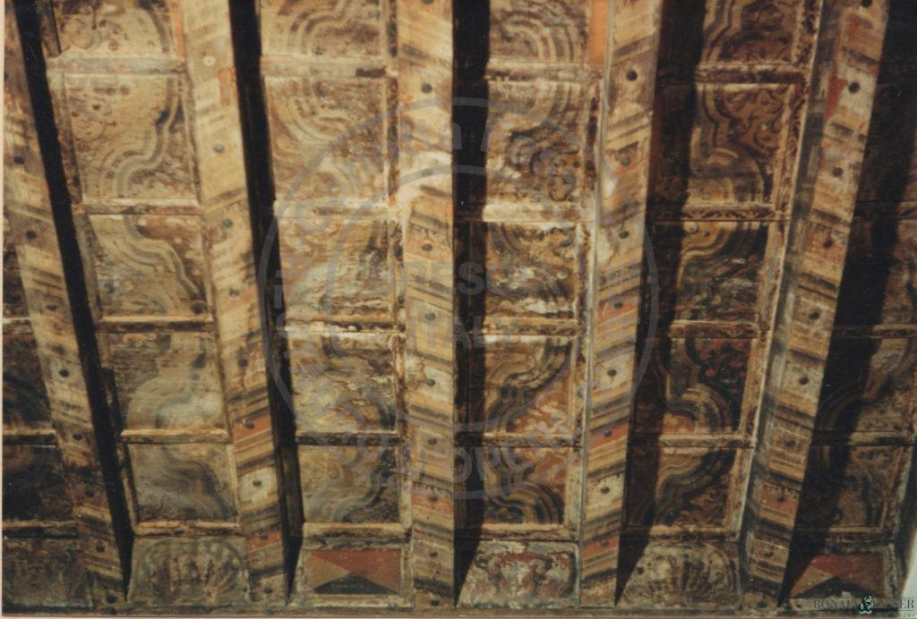 Parziale prima dell'intervento di restauro