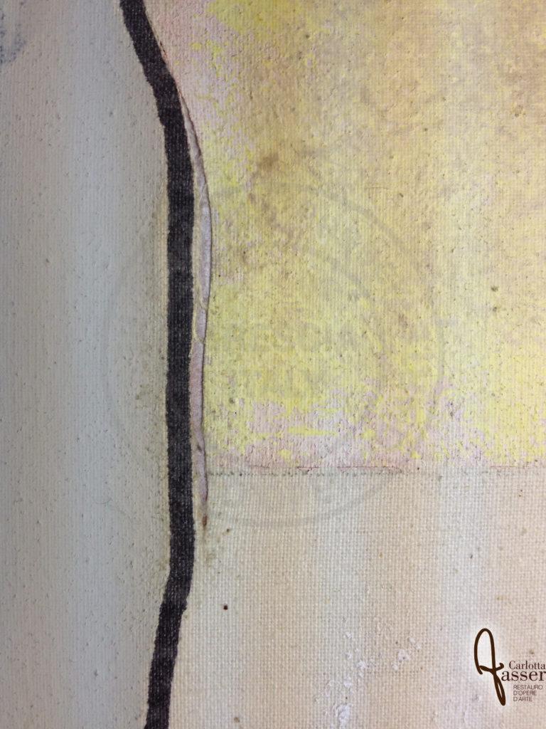 2c Dettaglio durante l'intervento di sutura