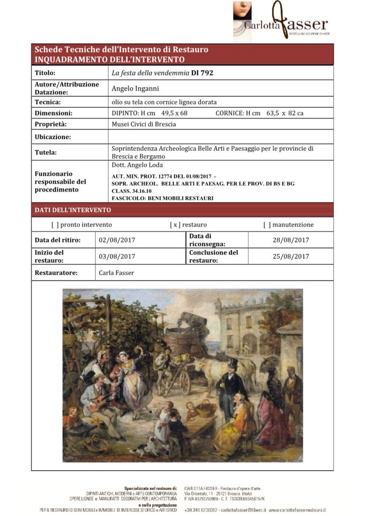 CONDITION REPORT A. INGANNI DI792 1
