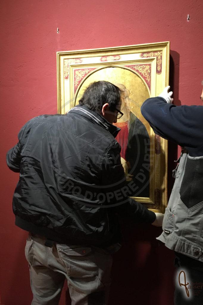 courier accompagnamento dipinti